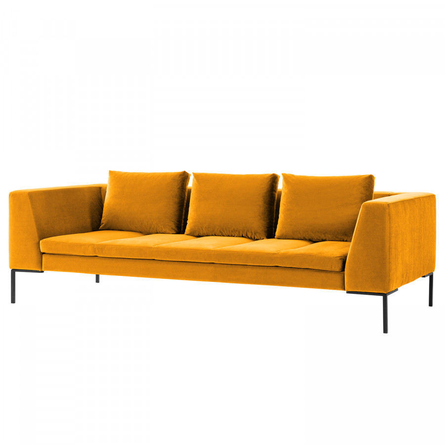 Home24 Bettsessel Sofa Samt Orange