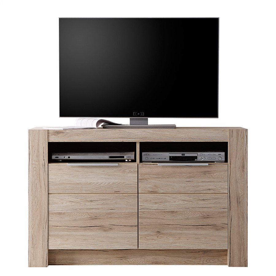 Tv Möbel Eiche Modern Tv Hi Fi Kommode Winburg