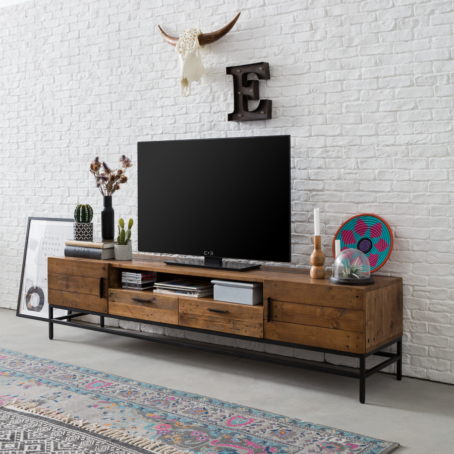 Tv Sideboard Pinie Tv Lowboard Grasby Ii