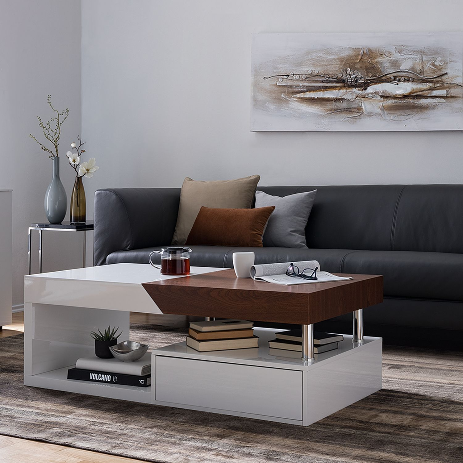 Fredriks Couchtisch Two Colour Informations: Fredriks Table Basse Renwer