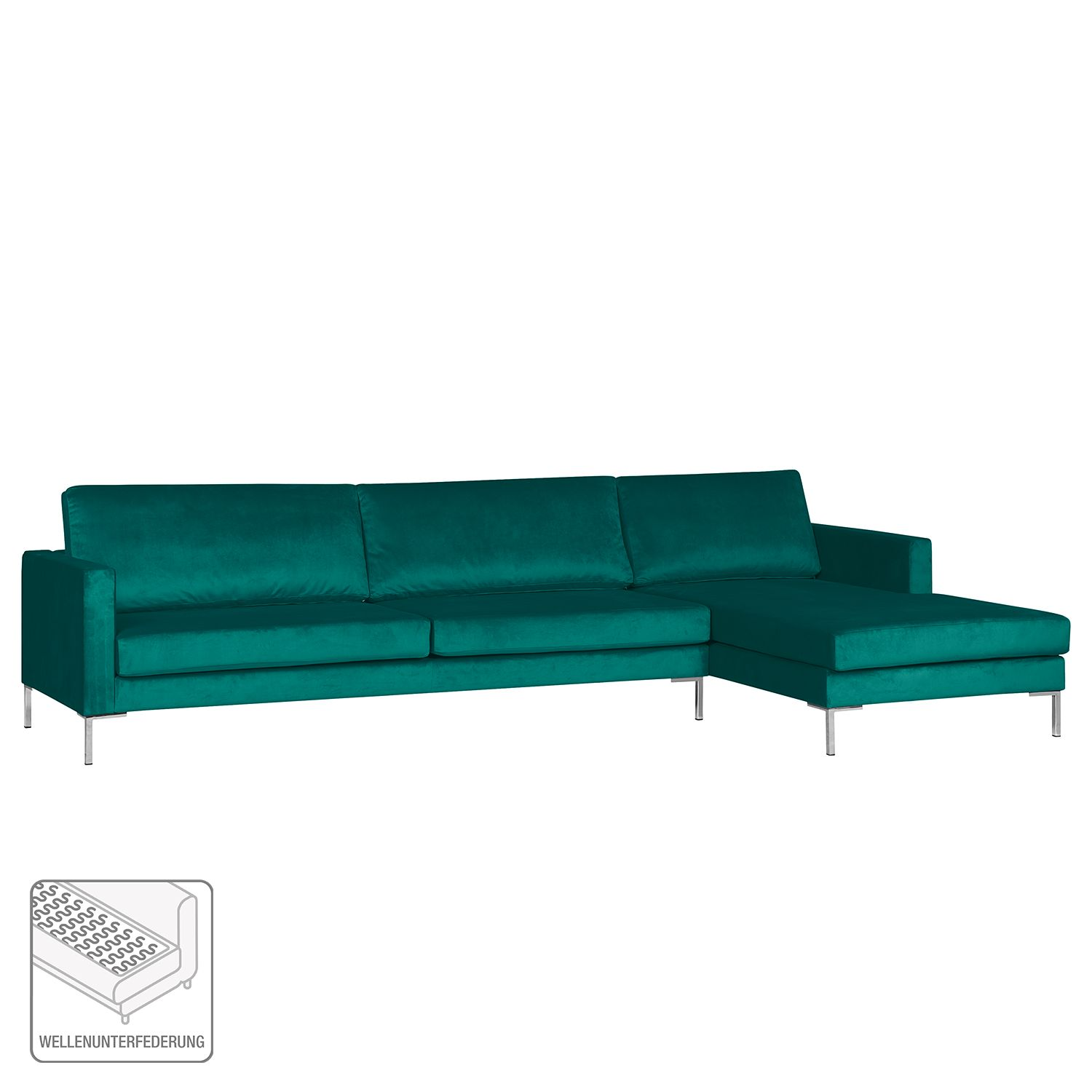 Ecksofa Clintwood Ecksofa Portobello Iii Samt Home24 At