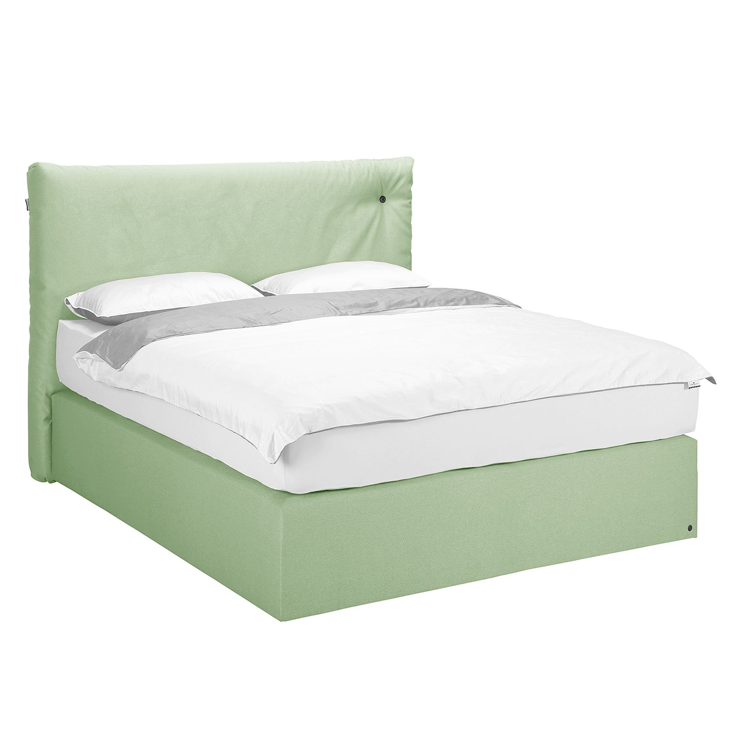 Ausziehbett Home24 Home24 Boxspringbett Soft Cloud Webstoff