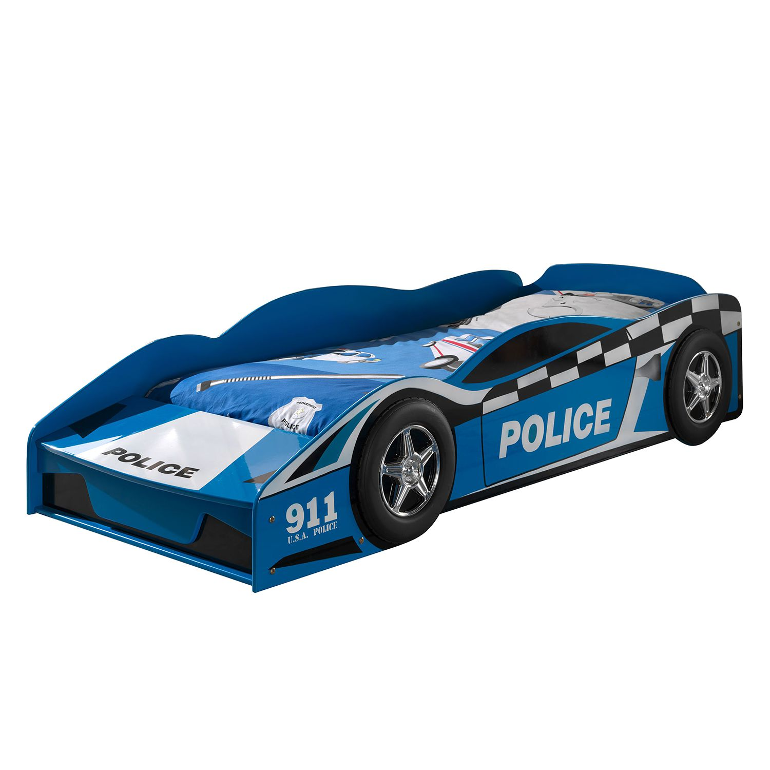 Cars Kinderbett Kinderbett Police Car Kaufen | Home24