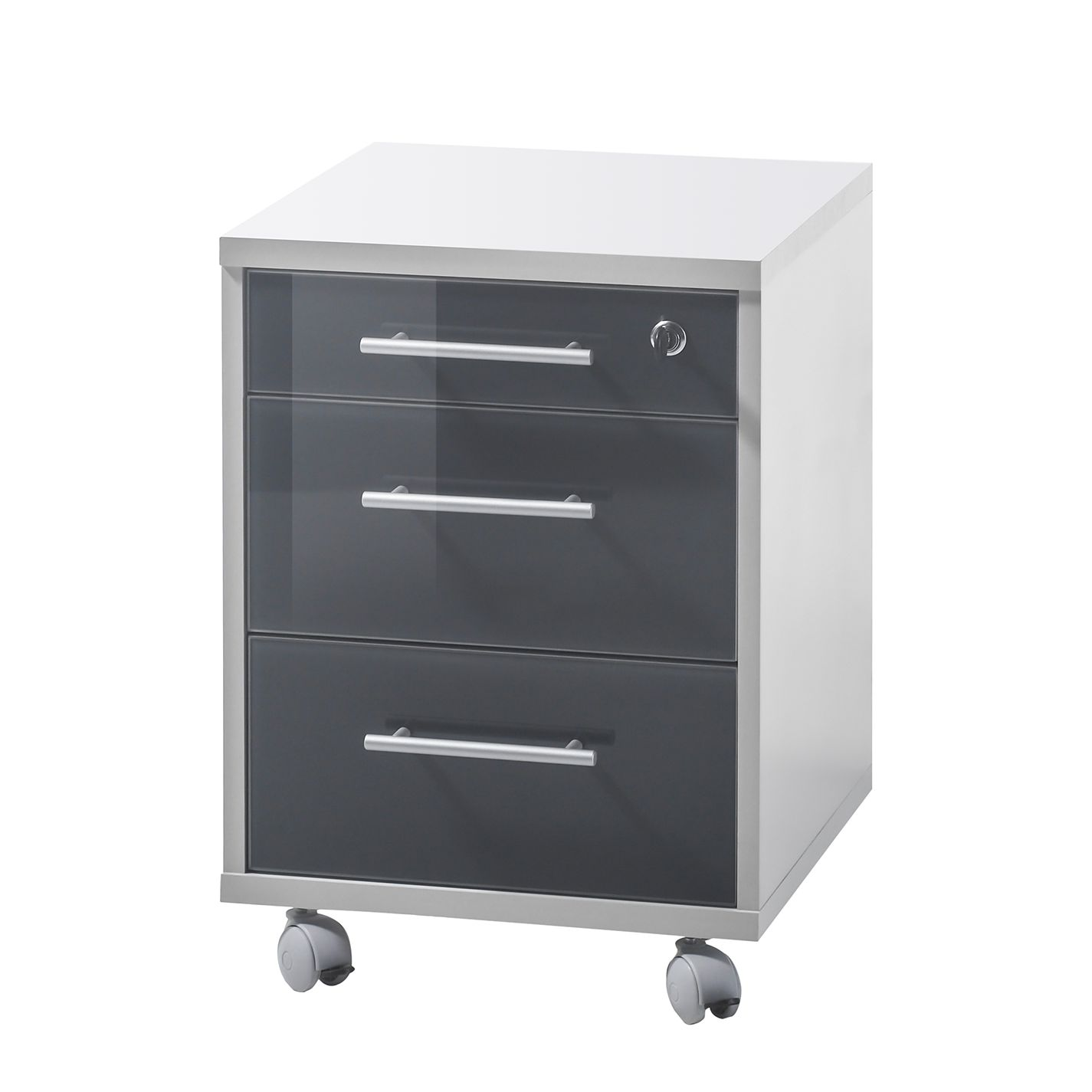 Rollcontainer Grau Home24 Rollcontainer Tux
