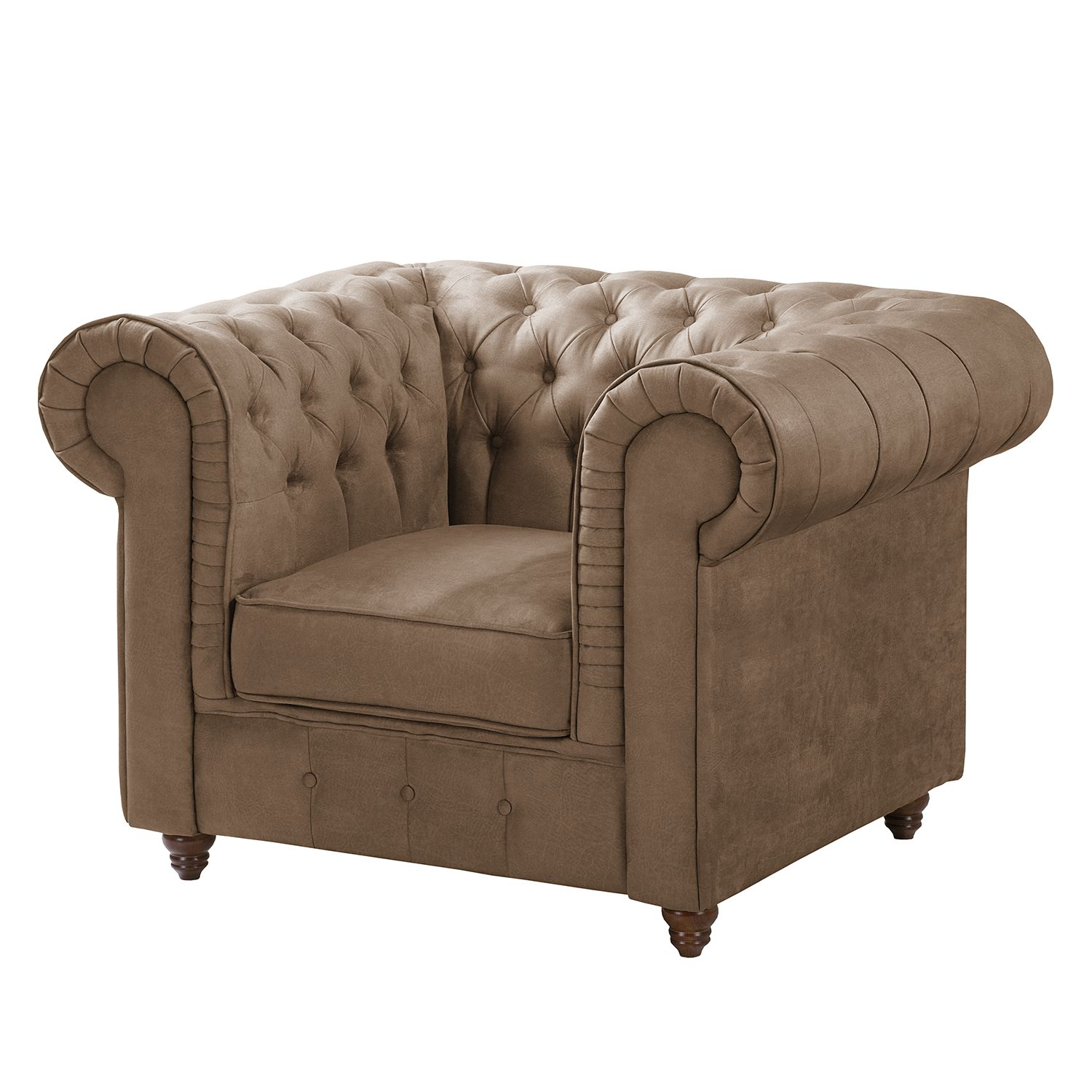 Sessel Samt Lila Home24 Chesterfield Sessel Pintano