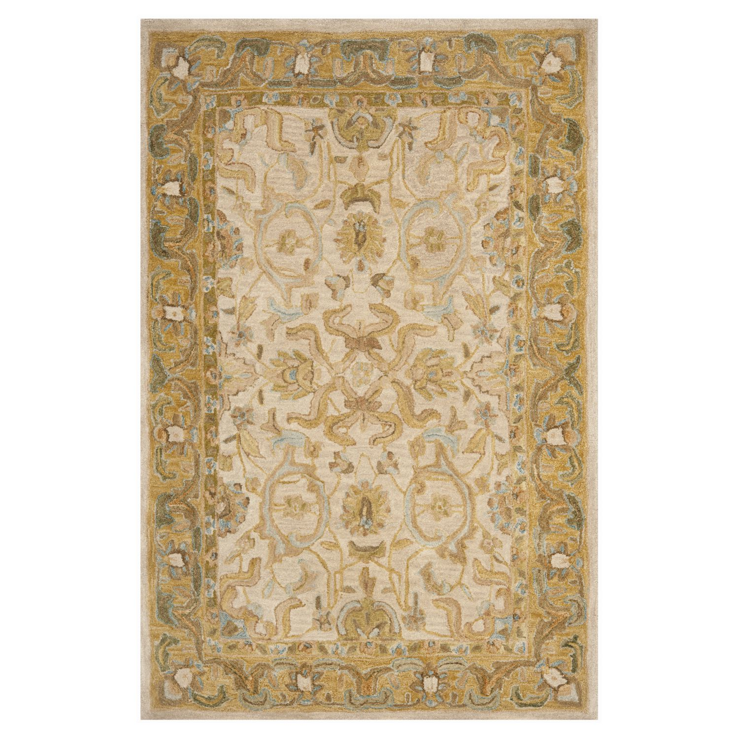 Hochflor Shaggy Teppich Palace Creme Home 24 Teppiche
