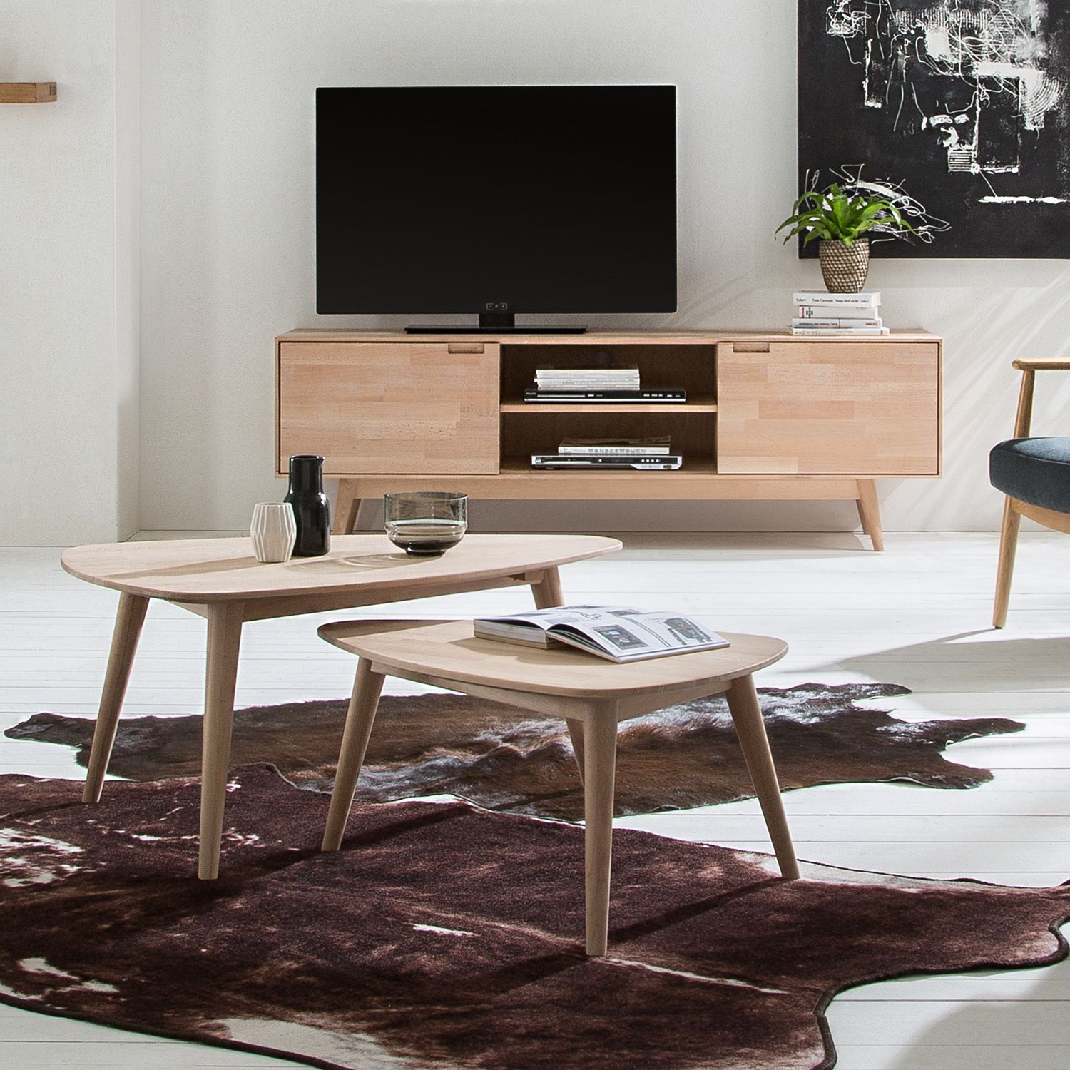 Tv Lowboard Und Couchtisch Tv Lowboard Finsby