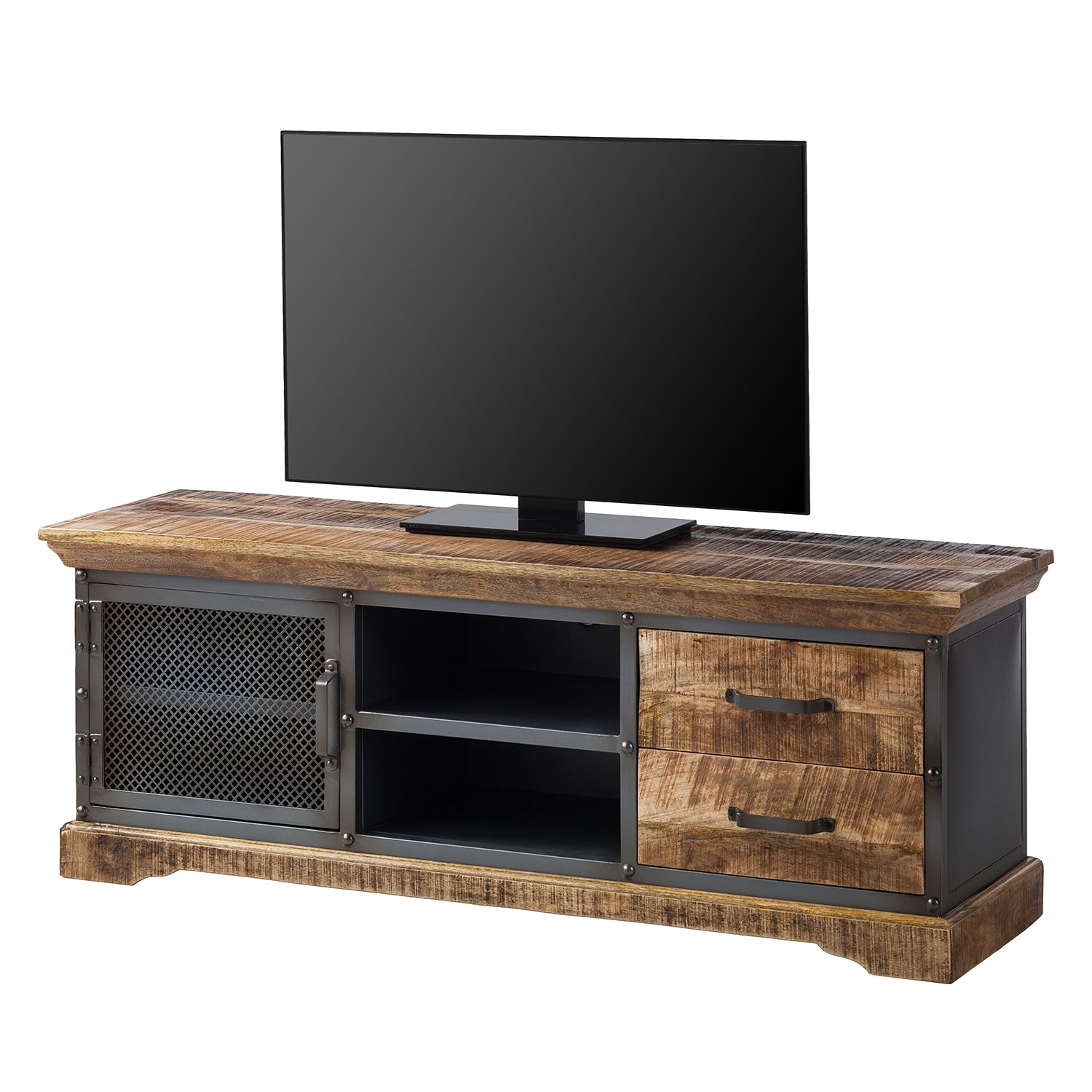 Natuzzi Couchtisch Glas Home24 Tv Lowboard Hunter