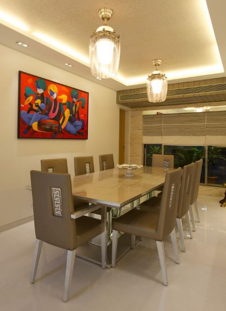 Interior Partition Dining Room Designs India - Dining Room | Dining Room