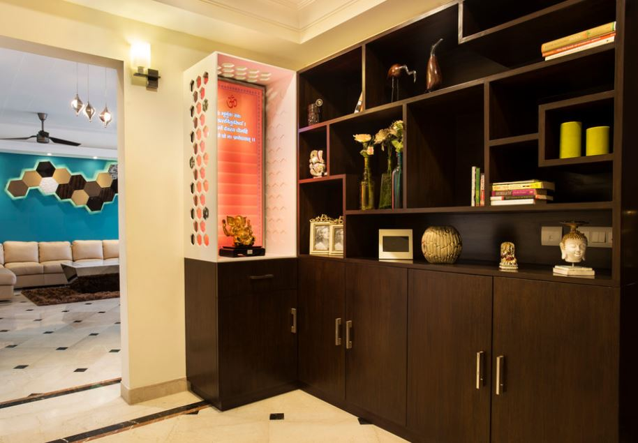 Small Pooja Cabinet Designs And Ideas