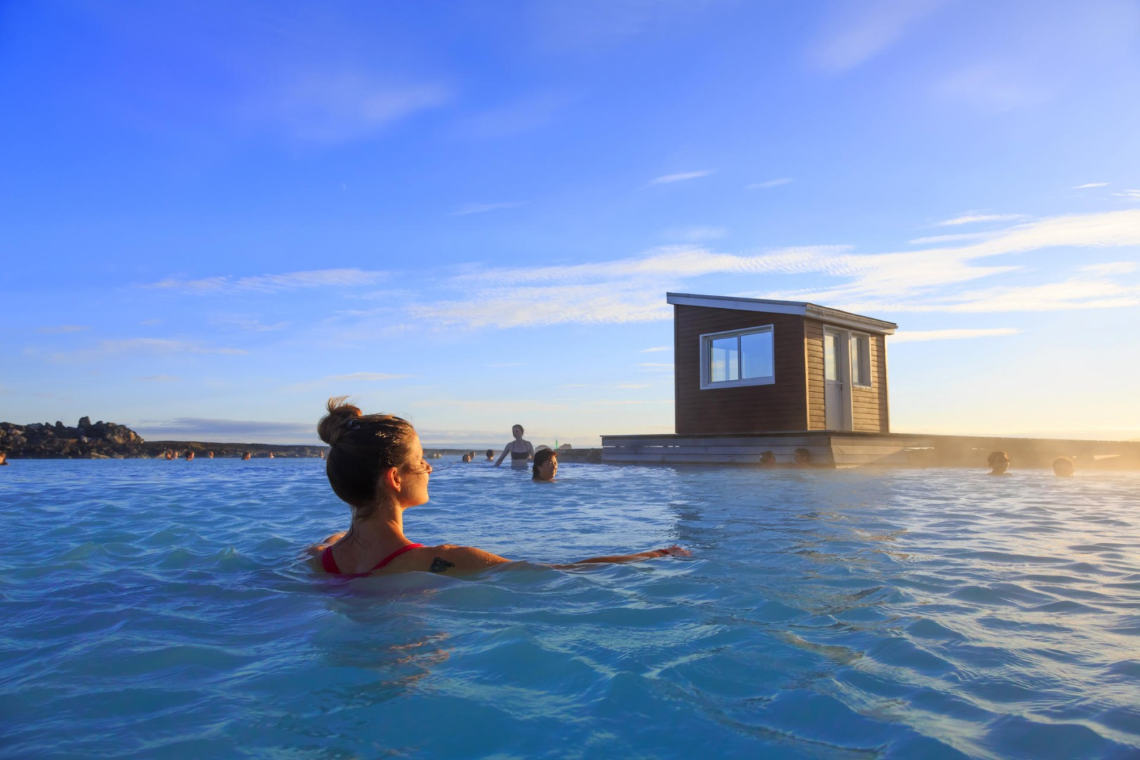 Cash Pool Dessau In Hot Water Swimming Iceland S Volcanically Heated Pools