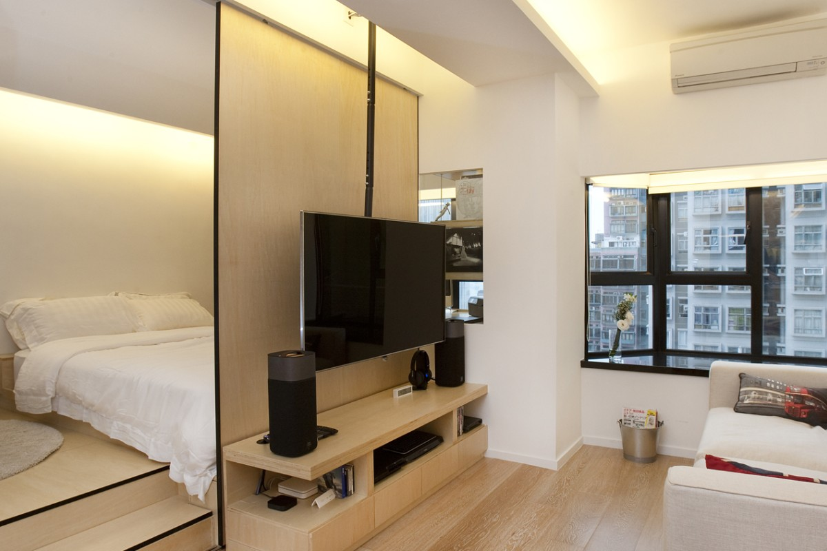Fullsize Of Bed In Living Room Designs