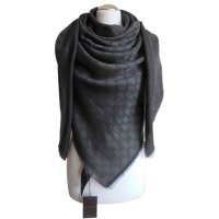 Gucci scarf Scarves Wool Black ref.23474 - Joli Closet