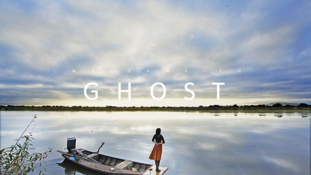 Ghost Photo Album Presentation Template - Powerpoint Templates