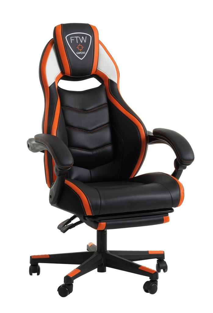 Gamingstuhl Gamborg Schwarz Orange Jysk - Outdoor Vorhänge Orange