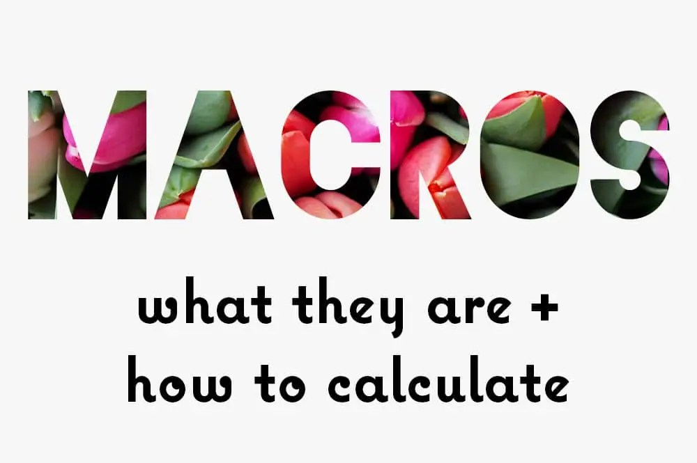 What Are Macros? What They Are  How to Calculate - KETOGASM