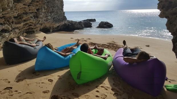 Ideal para una reunión de amigos en la playa