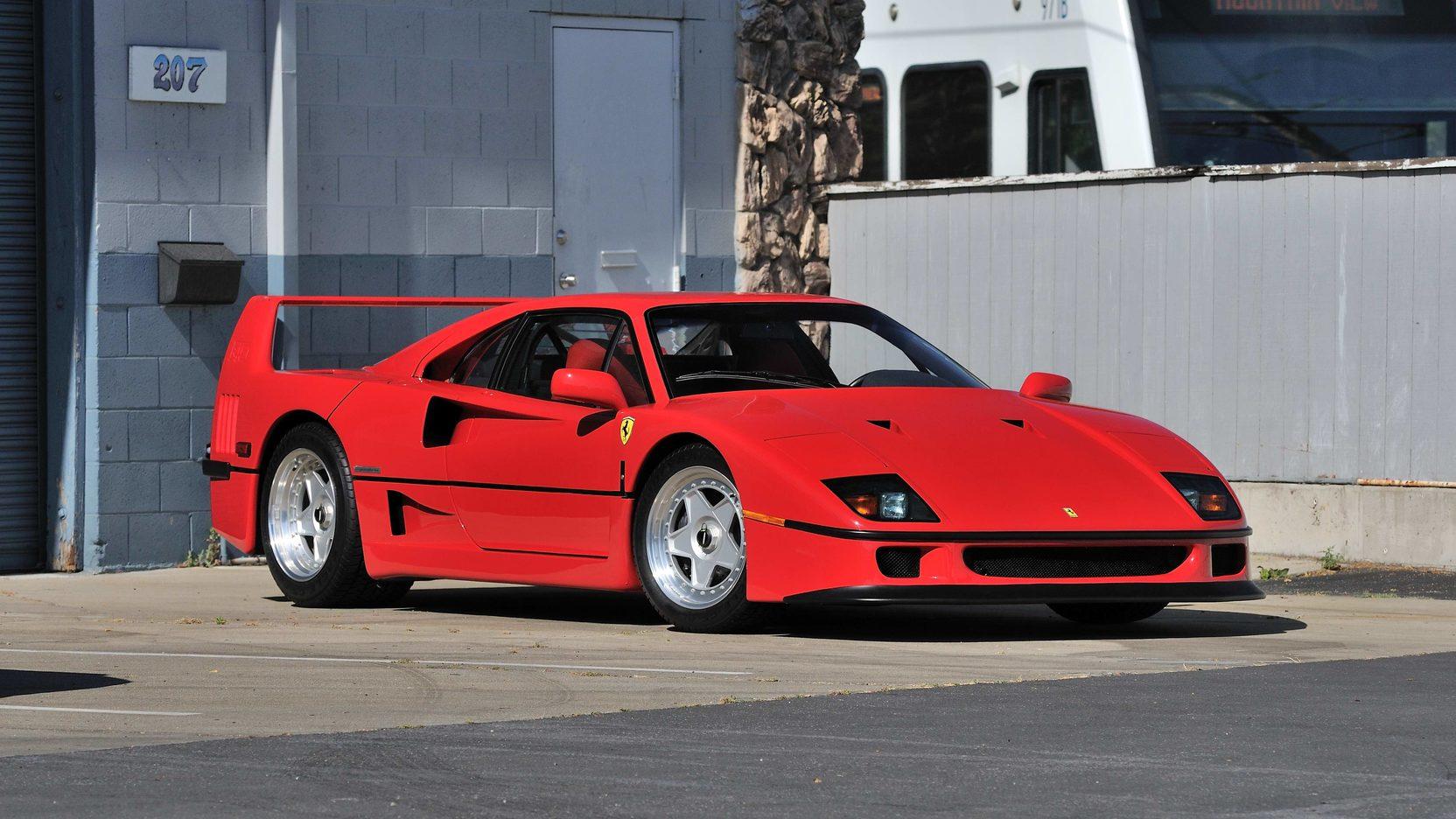 The Color Of The Wallpaper Quote 1990 Ferrari F40 S141 Monterey 2013
