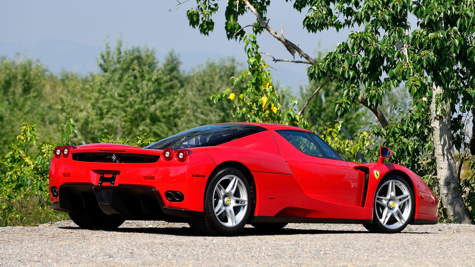 Car Shop Wallpaper 2003 Ferrari Enzo S108 1 Monterey 2016
