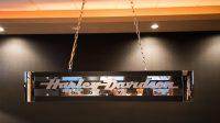 Harley Davidson Pool Table Light   K97   Las Vegas ...