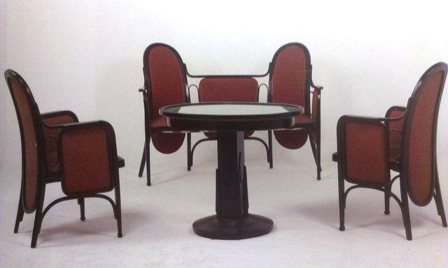 Antique Living Room Set from Thonet \/ Mundus for sale at Pamono - antique living room sets