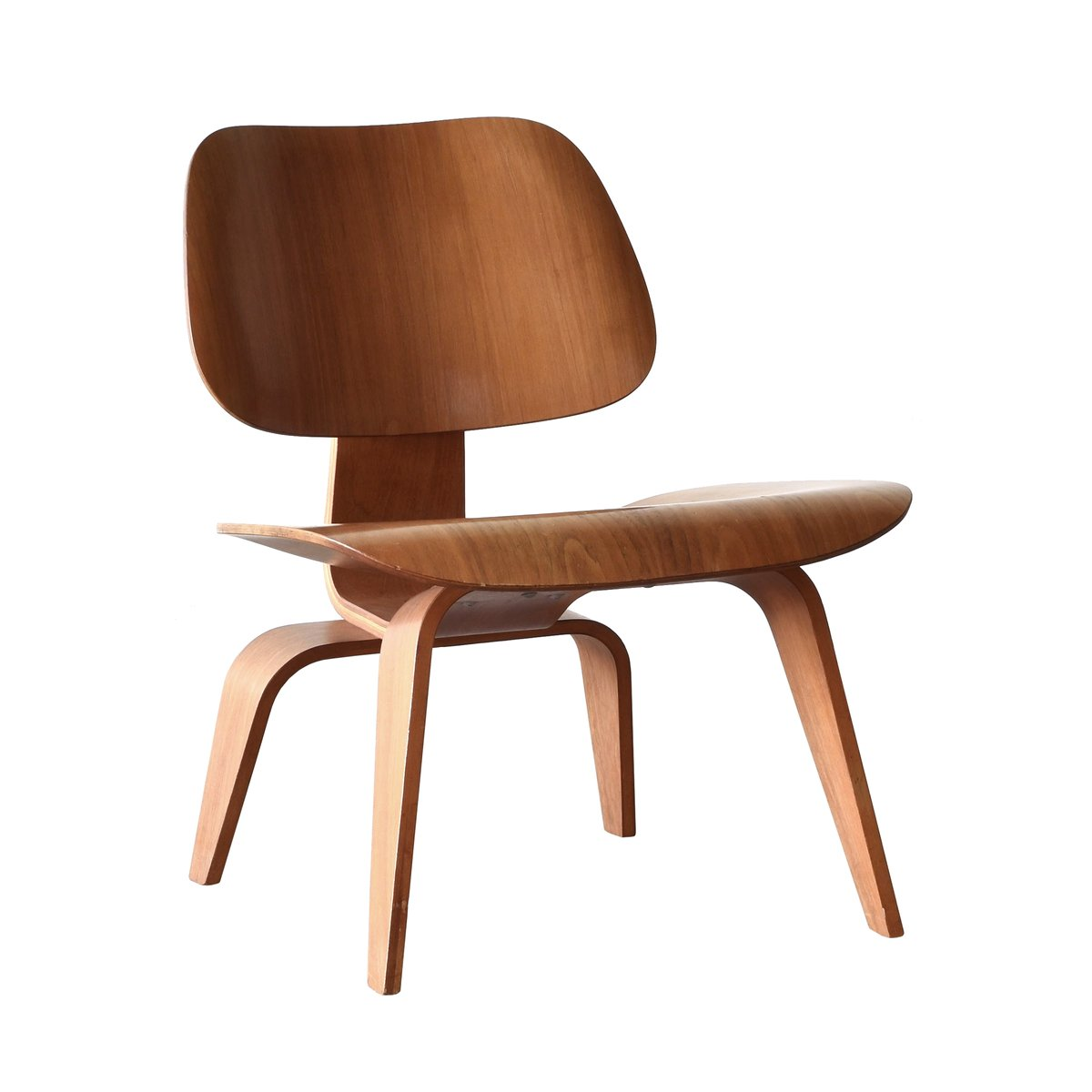 Charles And Ray Eames Chair American Lcw Walnut Lounge Chair By Charles And Ray Eames