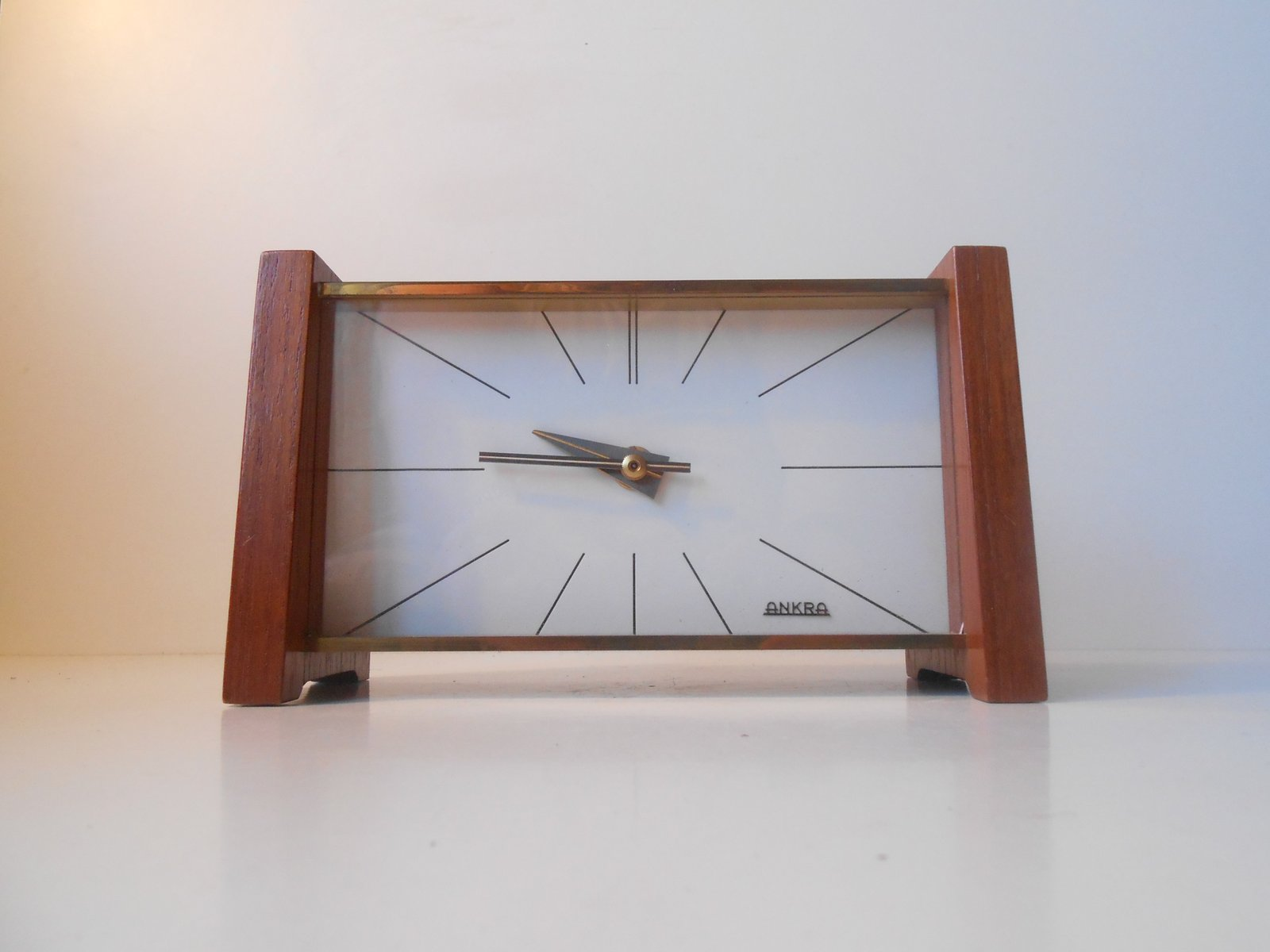 Table Clock Modern Mid Century Modern Table Clock From Ankra For Sale At Pamono