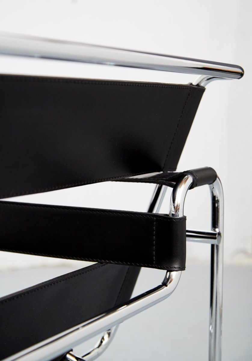 Vintage wassily chair by marcel breuer for knoll