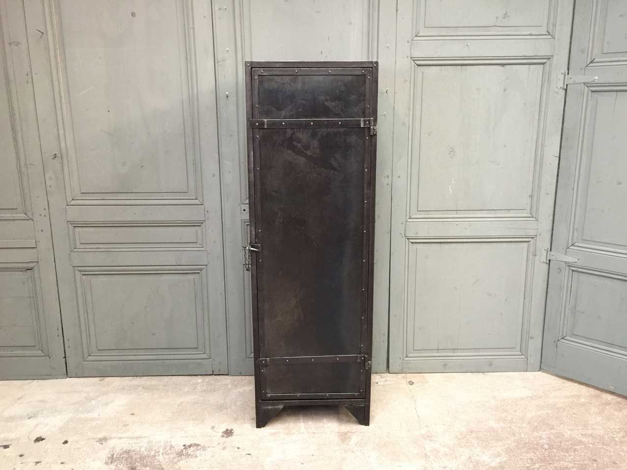 Industrial Wardrobes Industrial Metal Wardrobe For Sale At Pamono