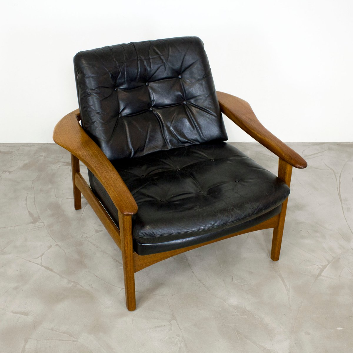 Scansit Sessel Scandinavian Leather Chair Yamsixteen