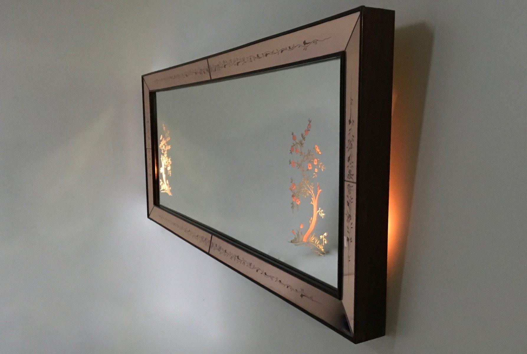Beleuchteter Spiegel Mit Alurahmen