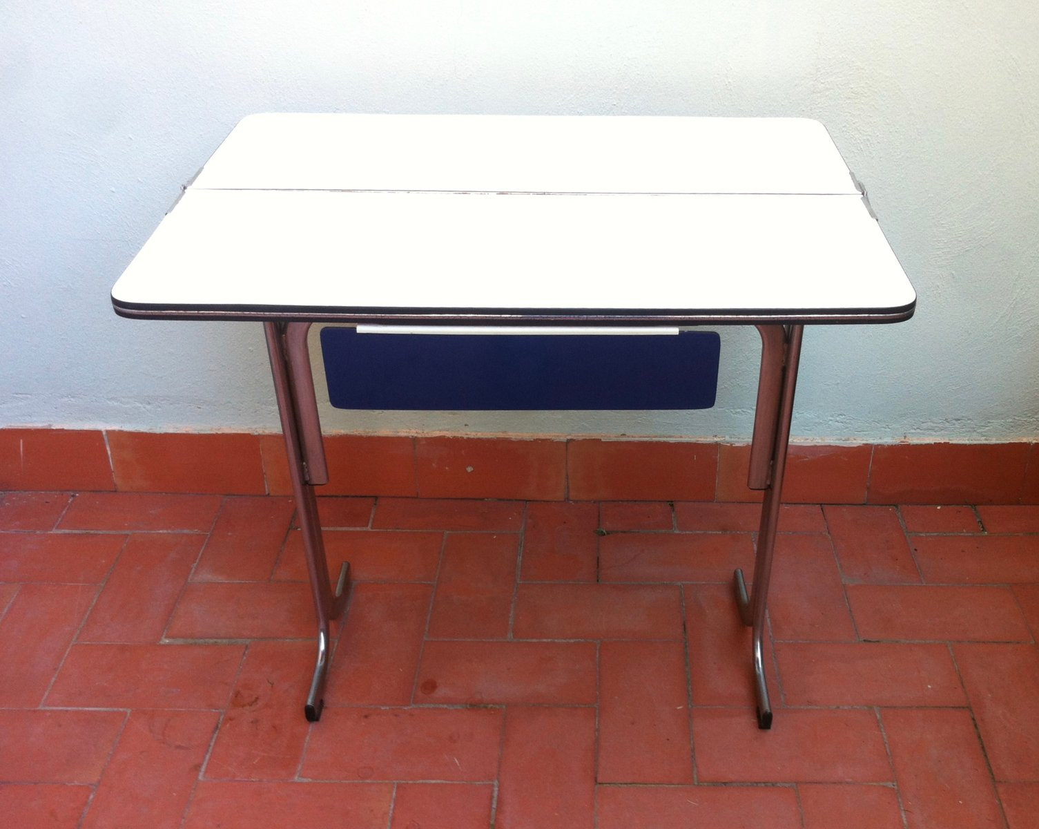Belgian Formica Folding Kitchen Table With Drawer S 1 Folding Kitchen Table  Belgian Formica Folding Kitchen
