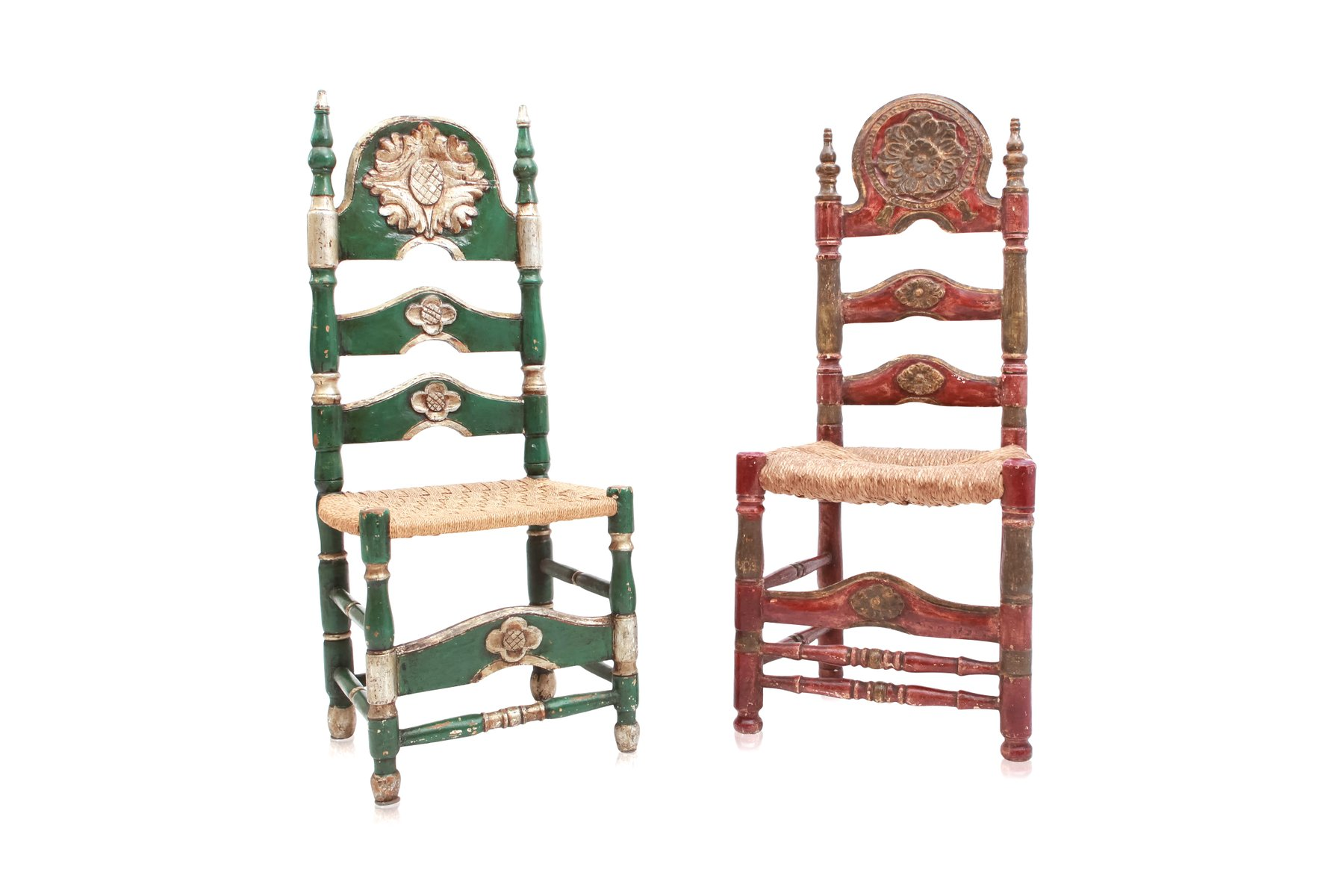 Tables greene s amish furniture part 2 antique spanish green and red ceremonial chairs set download