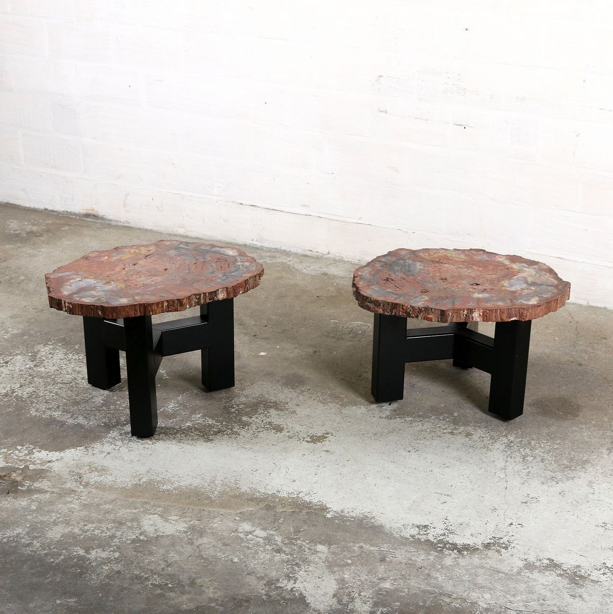 Vintage Side Tables By Ado Chale Set Of 2 For Sale At Pamono