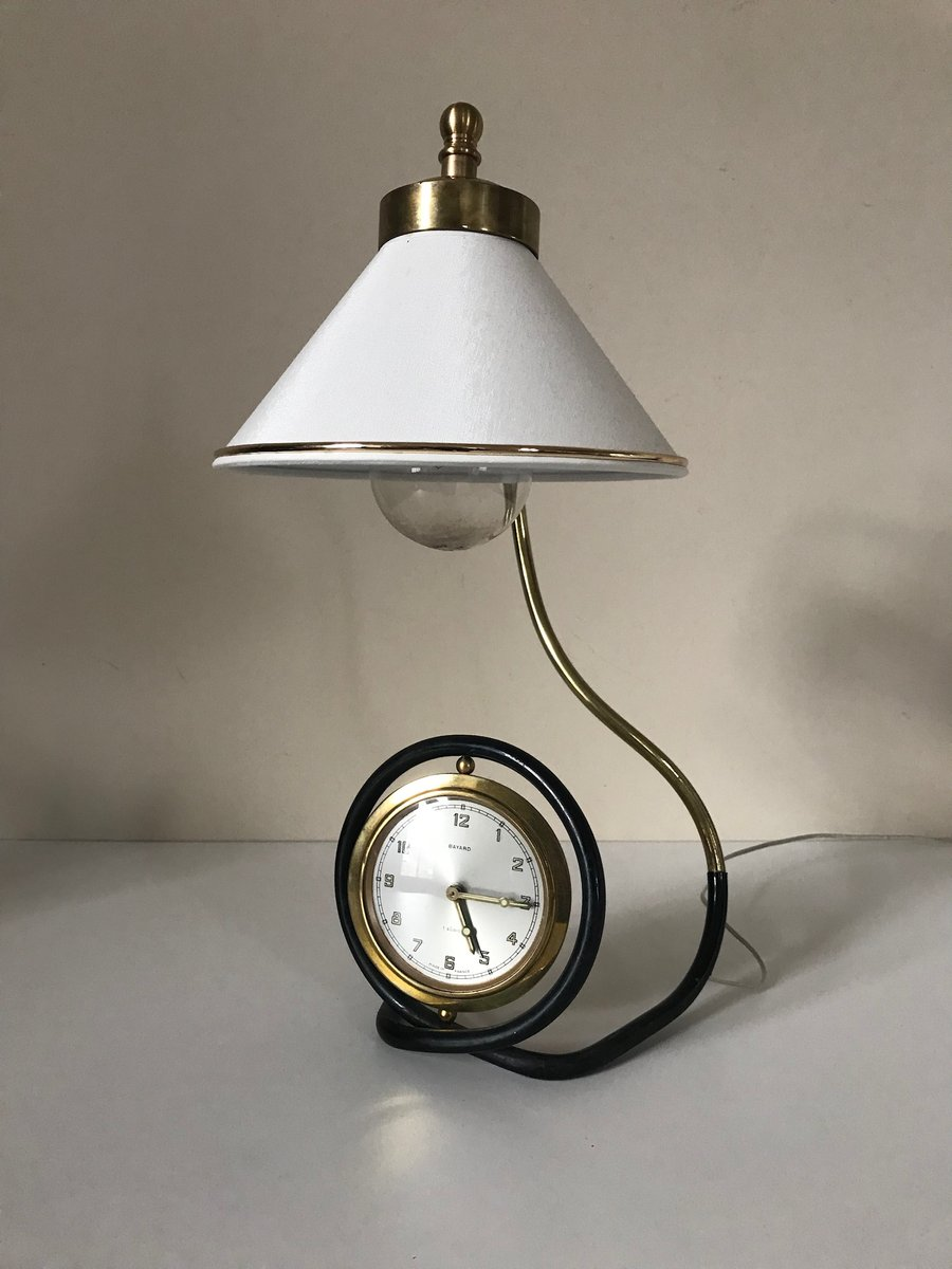 Alarm Clock Lamp From Bayard 1960s For Sale At Pamono