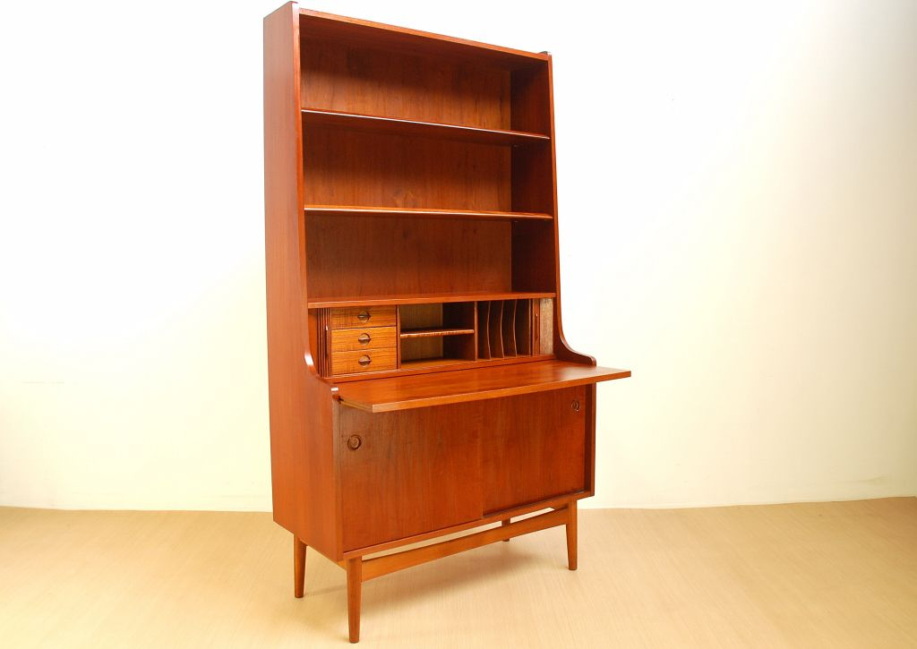 Bookcase With Desk By Nexo Mobelfabrik For Sale At Pamono