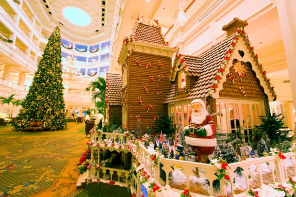 Fantastical Gingerbread Displays Decorate the Walt Disney World