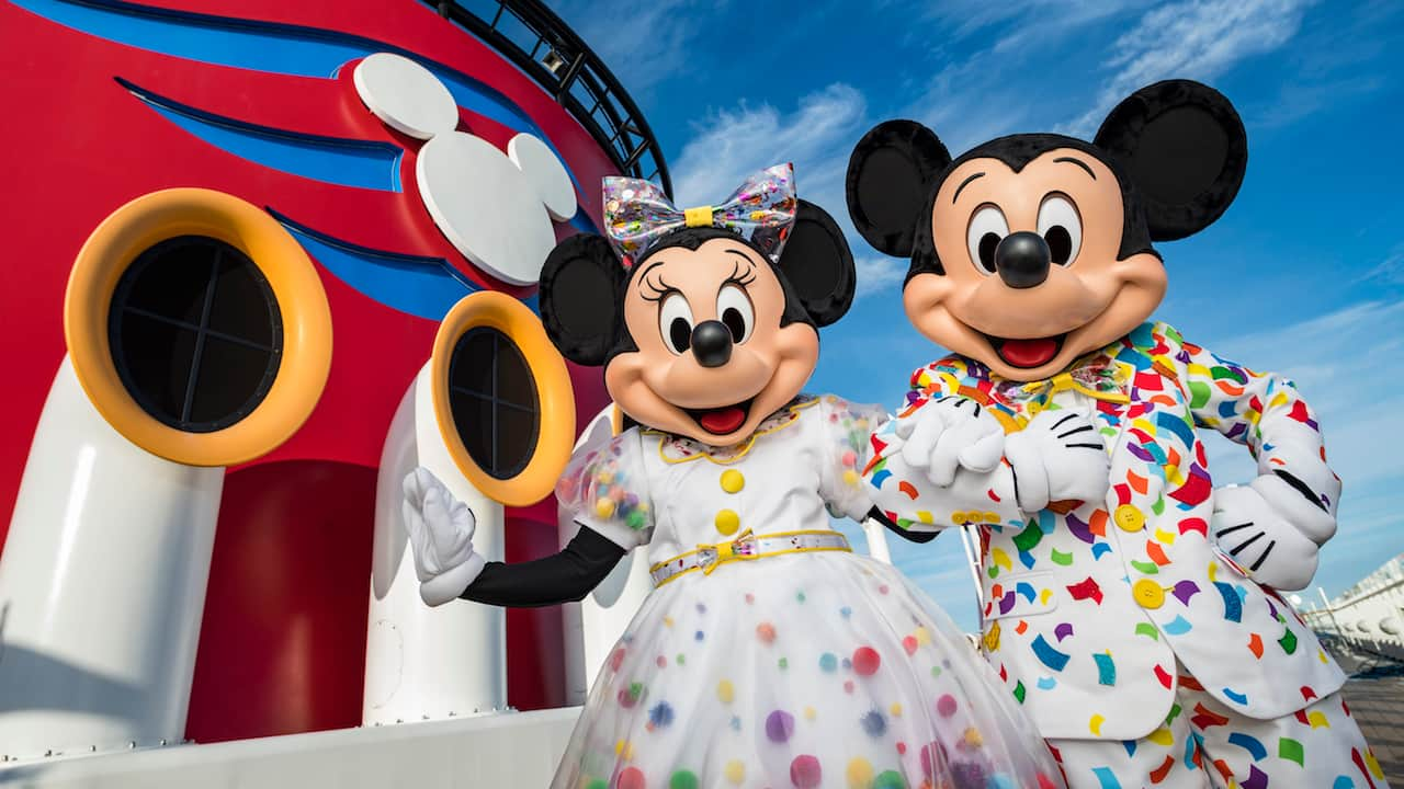 Disney Mickey Celebrate 90 Years Of Mickey Mouse On Disney Cruise Line Disney