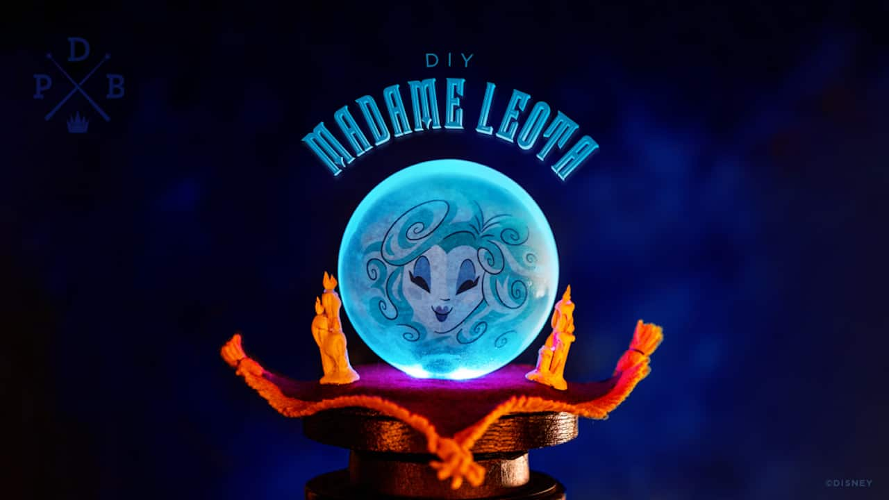 Diy Bank Holiday Offers Disney Parks Halloween Diy Make Your Own Madame Leota