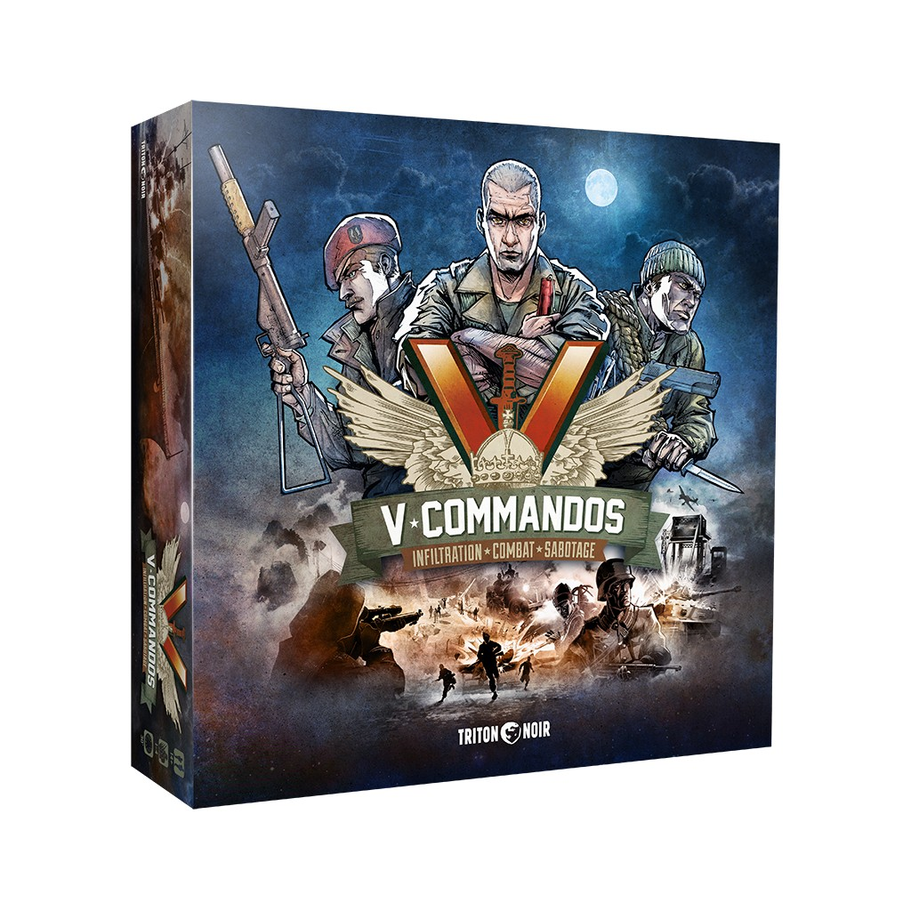 Pool Kaufen Coop Buy V Commandos Board Game Triton Noir