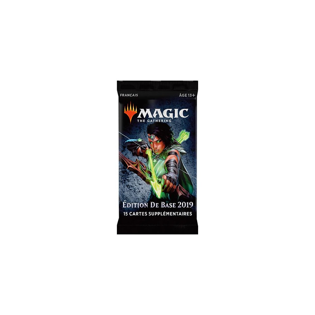 Libros De Magic The Gathering Magic The Gathering Edition De Base 2019 Boite De 36