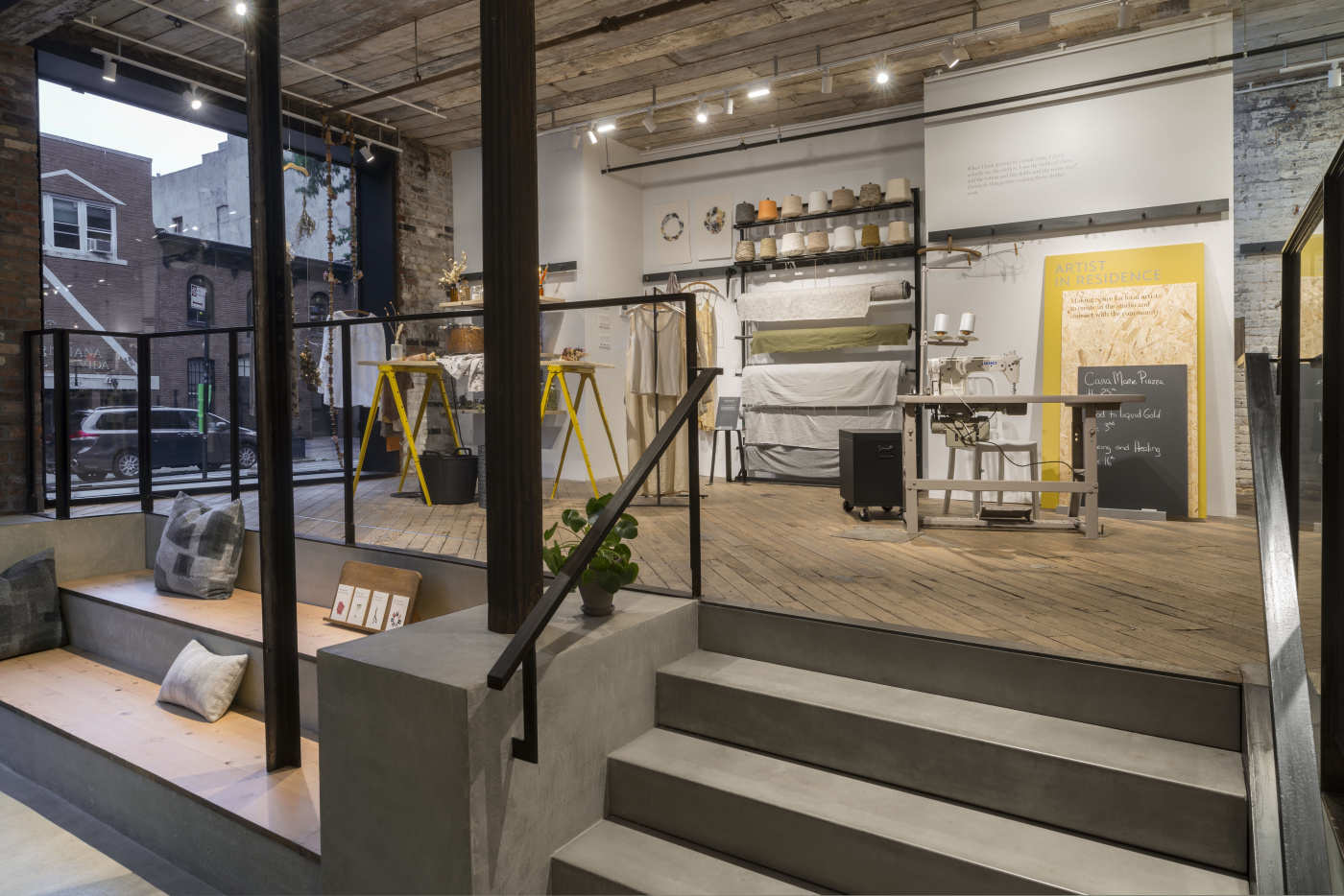 Second Life Store Inside Eileen Fisher S New Experiential Store Fighting Retail