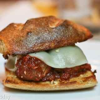 Ultimate Meatball Sandwich