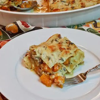 Butternut Squash Lasagna served 2 (1 of 1)