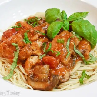 Chicken Cacciatore -- plated (1 of 1)