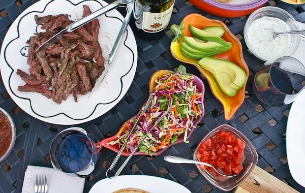 Summer Gatherings and Skirt Steak Tacos