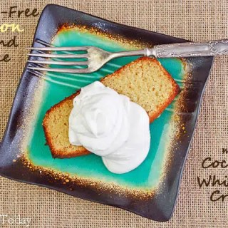 Gluten-Free Lemon Pound Cake - with coconut cream (1 of 1) copy