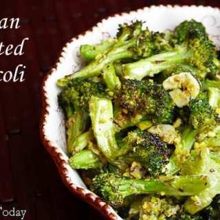 Tuscan Roasted Broccoli | Savoring Today