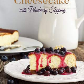 This luxurious cheesecake recipe is a rich, dense texture ~ perfect for special occasions. Leftovers freeze well too!