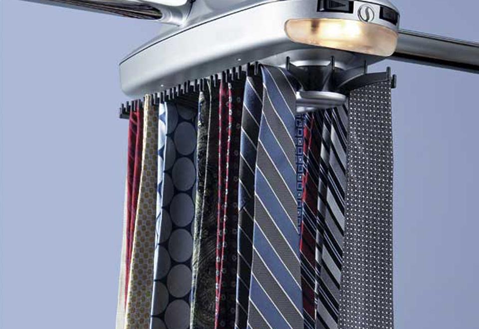 Motorized Tie Rack Price Tracking